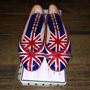 London Sole LE UK flag shoes